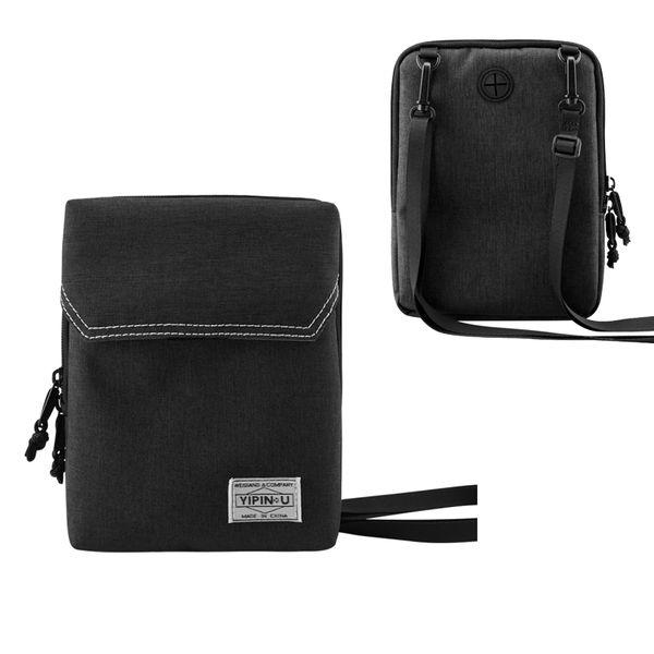 Best seller outdoor sport sling shoulder bag with travel passport & mobile phone pocket men women urban bags small briefcase bag