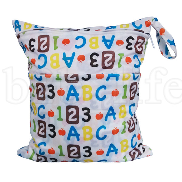 INS Baby Diaper Bags Nappy Bag Reusable Cloth Diaper Waterproof Infant Travel Nappy Multifunctional Mummy Bag KKA6676