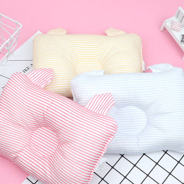 Baby Shaping Pillow Head Protection Cushion Flat Head Soft Infants Bedding Nursing Pillows Baby Boy Girl Sleep Anti Roll