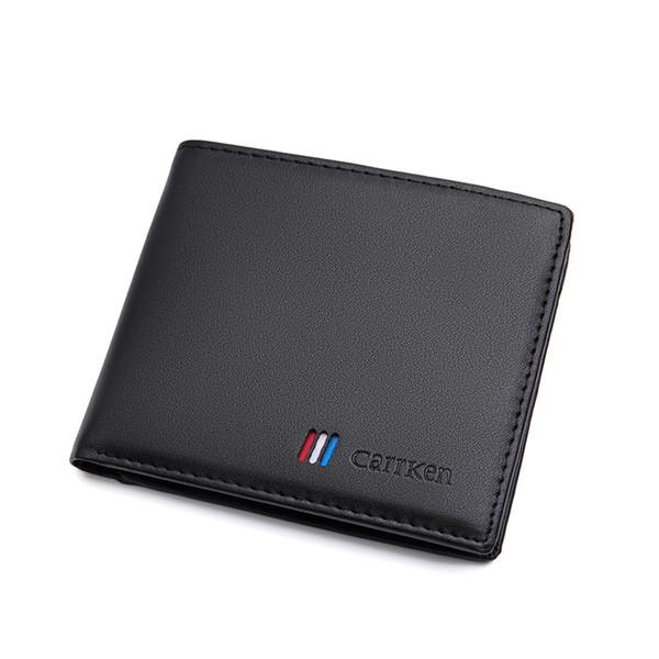 Cüzdan erkekler Yeni yatay Kore moda cüzdan kısa stil nokta toptan satışa hediye yüksek kalite ücretsiz kargo