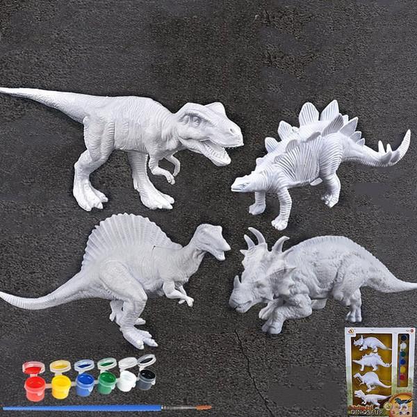 Satın Al Toptan Boyama Boyama Hayvan Dinozor Modeli Jurassic Vahşi