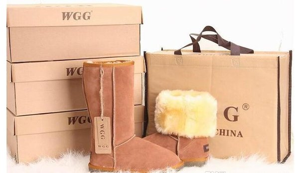 Free shipping 2019 High Quality WGG Women's Classic tall Boots Womens boots Boot Snow Winter boots leather boot US SIZE 5-12