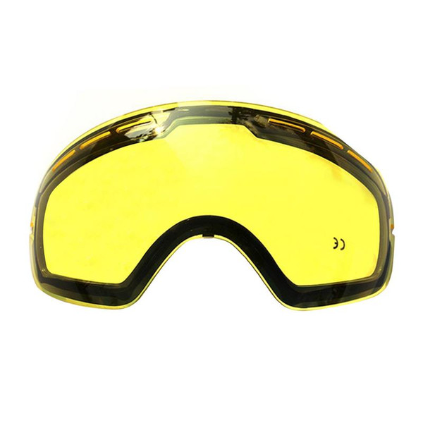 High Quality Double Glare Brightening Lens Ski Goggles Professional Polarized Ski Glasses Multifunctional Lenses For Skiing Mask