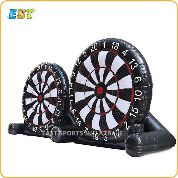 Grosshandel Freies Verschiffen Im Freien Lustiges Spiel Kaufen Riesigen Aufblasbaren Fussball Und Golf Dartboard Von Tengdingbaby 1176 57 Auf