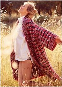 designer cc brand women knitted plaid wool cardigan poncho kimono Batwing sleeve cashmere shiner pink oversize sweater cape coat