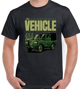 Le Go N 039 Tee shirt Homme Drôle 4X4 90 120 Svx DeFunnys Rover