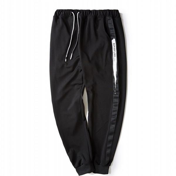 Free shipping plus size 2xl-6xl men Sweatpants hiphop pants trousers cotton tops men hip-hop trousers fat big elastic waist