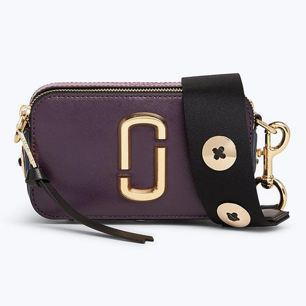 MJ female bag camera bag 18 new winter mascherano spell wide shoulder straps color rivet slanting female bag, small party