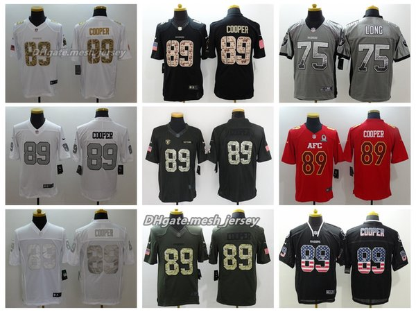 uk availability 422fc 48537 2018 Men Oakland Jersey Raiders 89 Amari Cooper 75 Howie Long Color Rush  Football Stitching Jerseys Embroidery UK 2019 From Good_jersey666, UK  $$22.88 ...