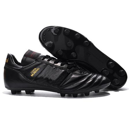 Erkek Copa Mundial Deri FG Futbol Ayakkabıları İndirim Futbol Cleats 2015 Dünya Kupası Futbol Çizmeler Boyutu 39-45 Siyah Beyaz Turuncu botines futbol