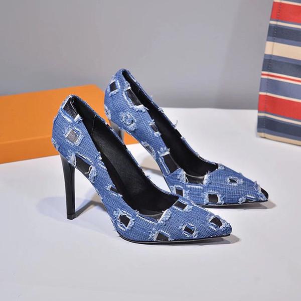Tallas grandes Zapatos de tacón modelos Zapatos de boda Mujeres Punta estrecha Tacones altos Slingback Stilettos Sandalias de cuero Bombas talla 35-42 tacones 10cm