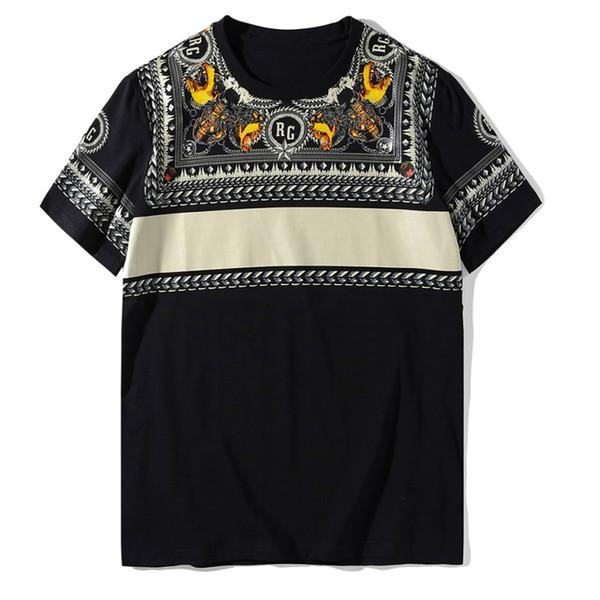 19SS Luxury Mens Designer T Shirt Fashion Cotton Couple Short Sleeve Mens Print Sport Tees Size S-2XL