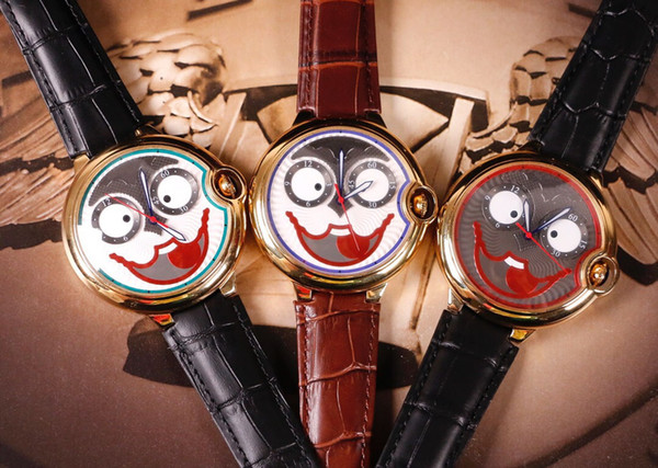 mens mechanical watch specially designed automatic mechanical movement 316 stainless steel case 47mm 13mm stylish leather strap luxury watch - from $133.21