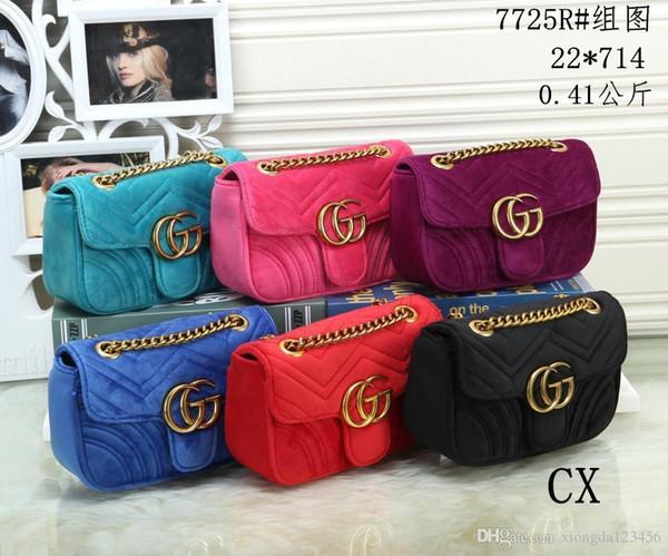 7725R # CX NOVO melhor preço de alta qualidade mulheres senhoras bolsa tote ombro bolsa mochila bolsa carteira