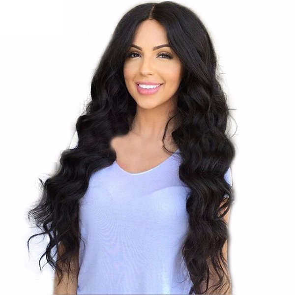 Glueless Full Lace Body Wave Wig Cheap Baby Hair Virgin Brazilian Glueless Body Wave Lace Front Human Hair Wigs Free Part