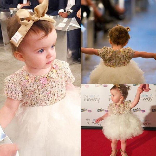 WNLEIGEL Girls princess summer autumn dresses kids patchwork mesh cute dress baby floral beautiful clothes children 1-4 years