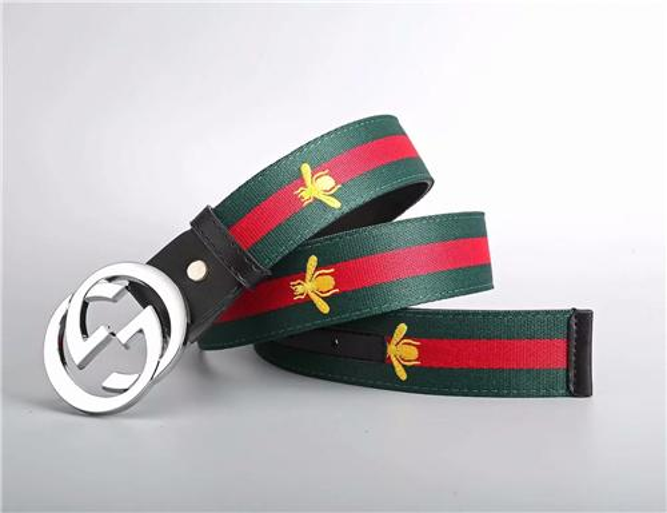Top Designer canvas belt brand Round buckle Snake Print Red and green stripes Bee belts for Men Strap Women Jeans Woman waist belts