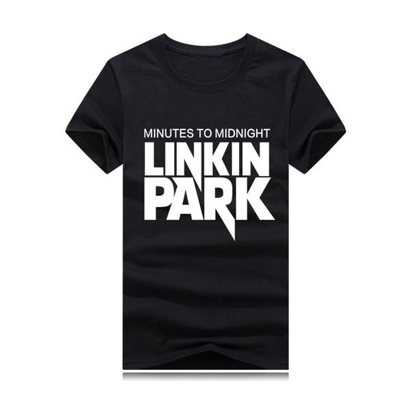 Linkin Park new men's and women's t-shirts global rock hip-hop music T-shirt brand designer tee California hip-hop rock T-shirt