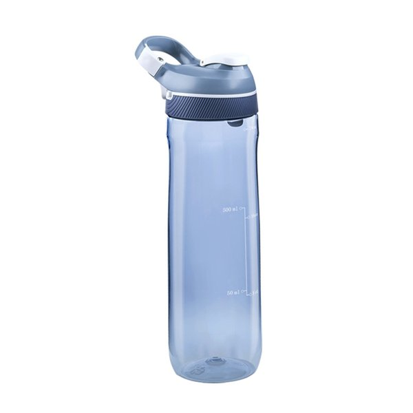 Large Capacity Temperature Resistance Sealing Dust Cover Daily Sport Bottle With Buckle Outdoor Leakproof Hiking Cycling