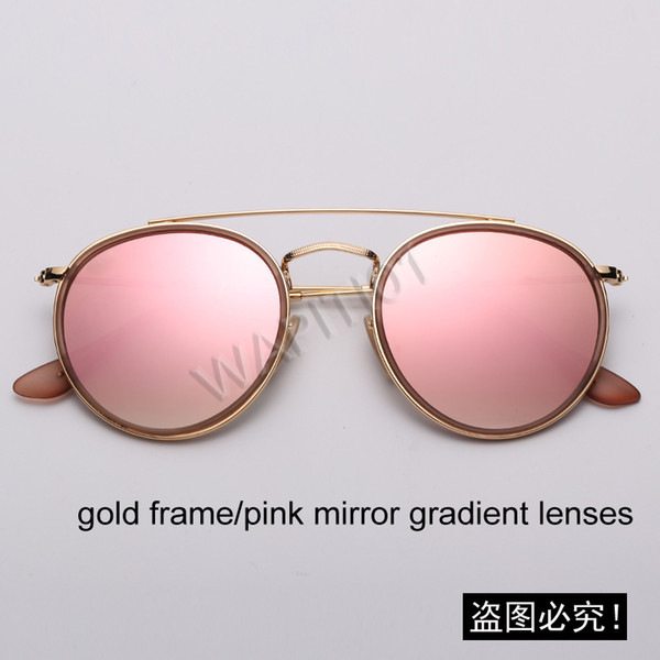 001 / 7O Gold-rosa Spiegel Gradienten