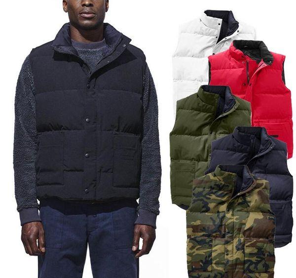 Canada giù conferisce al rivestimento del parka del progettista del Mens modo dei rivestimenti della maglia delle donne di inverno giù uomo di alta qualità caldo cappotto maschile Outerwear doudoune