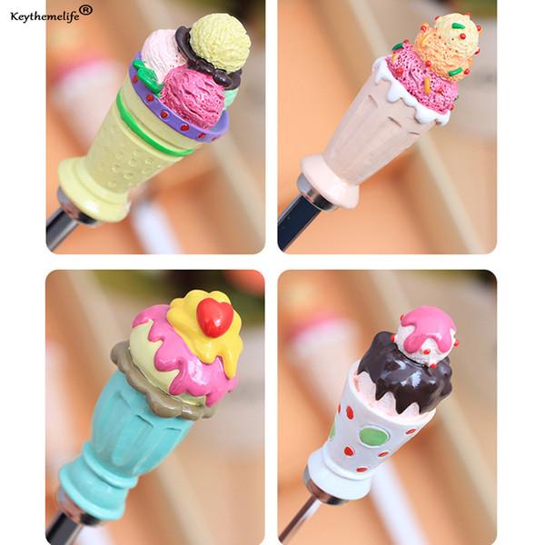 Keytheme life4pcs Coffee Dessert Spoon Teaspoon Condiment Sugar Measuring Fashion Cute Style Spoon Set For Wedding Childen Gift E