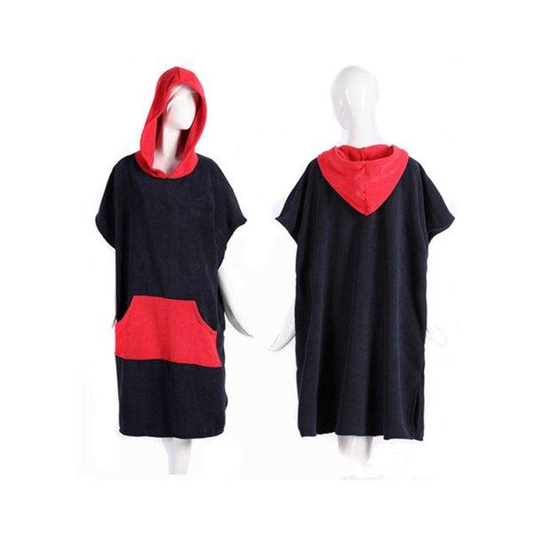 Sleeveless red cape