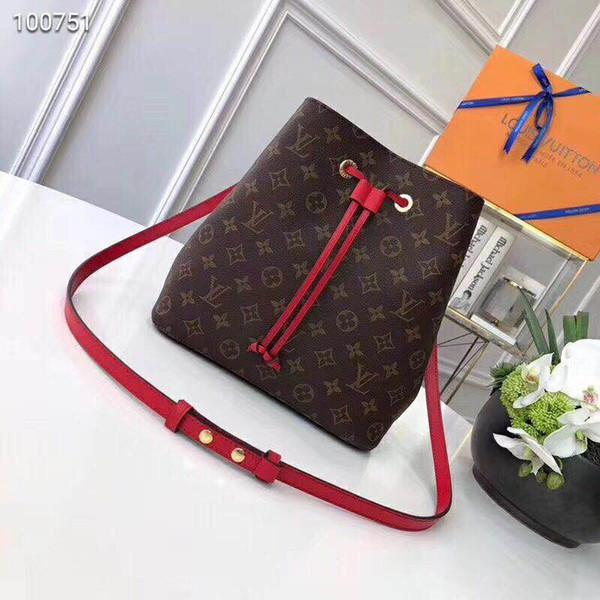Luxury de igner women handbag loui 13 vuitton 13 tring neonoe bucket real leather pur e women lv houlder bag