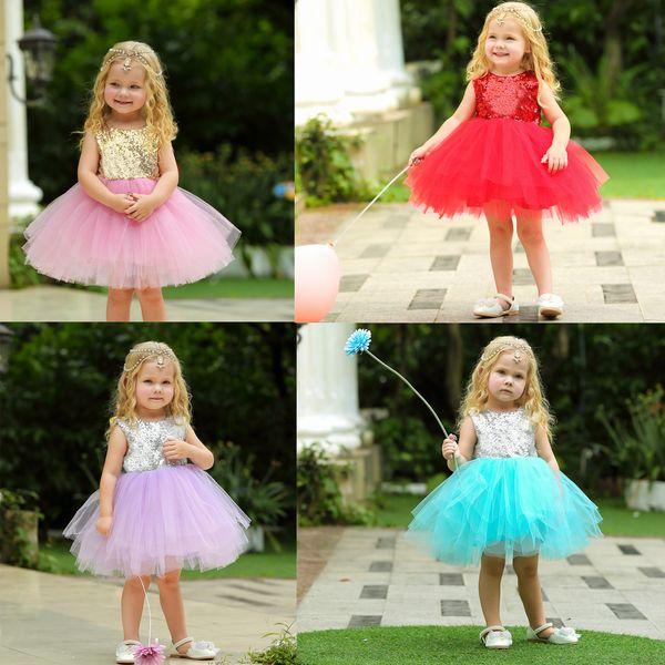 2019 kids clothes Girls princess dress children's clothing summer flower girl dress Cinderella costume
