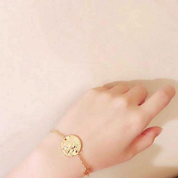Designer bracelets for men Luxury Bracelets 2019 Pig Animal Copper Zodiac Circle Card Charm Bracelets women brand jewelry designer girl gift