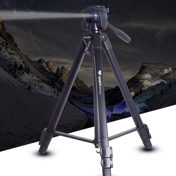 DY658 Trípode plegable multifuncional Luz Trípode conveniente Cámara digital de aleación de aluminio SLR