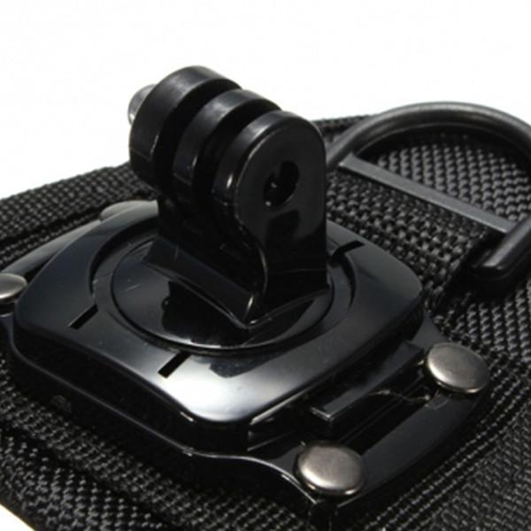 360 Rotate Hand Strap Tripods For Gopro Wrist Strap Arm Mount Wrist Band For Gopro Hero 5 4 3+ 3 2 SJ4000 SJ5000 XiaoMiYi Camera
