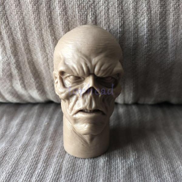 Spedizione gratuita Ordine misto Custom 1/6 scale Head Sculpt blank Captain America RED SKULL non dipinto Per 12