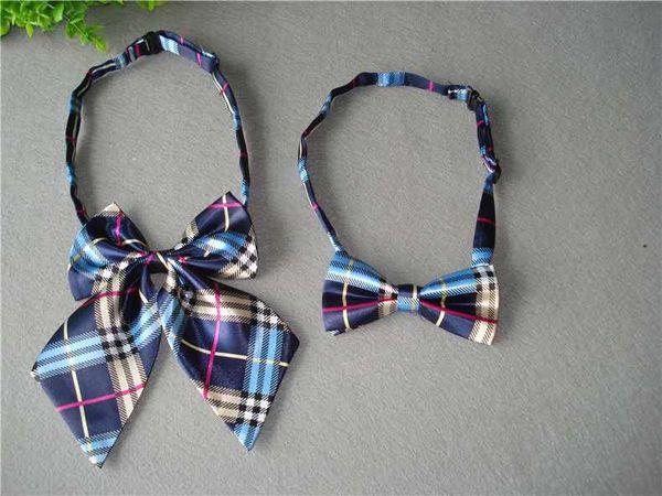 Trendy children's decorative collar flower bow tie primary school kindergarten class uniform school wind college bow tie suit shirt girl