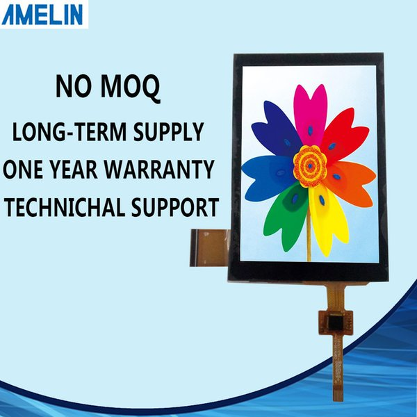 3.5 inch 320*480 TFT LCD Module IPS Viewing angle display with RGB interface screen and CTP touch panel