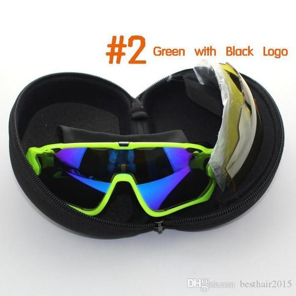 Yeni Gafas Bisiklet Gözlük Gözlük 4 adet Lens Polarize UV 400 Bisiklet Güneş Gözlüğü Bisiklet Gözlük Tour De France Gözlük Ciclismo Lunette
