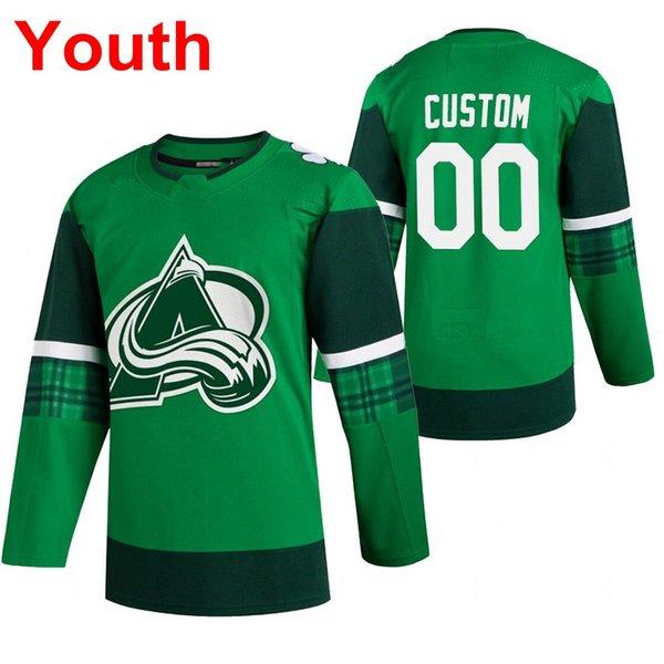 Молодежь 2020 Святого Патрика#039;s день зеленый