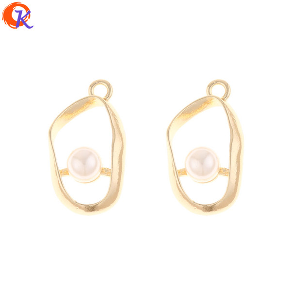 wholesale 100Pcs 15*27MM Jewelry Accessories/Earring Making/Irregular Shape/Charms Pendant/DIY/Hand Made/Earring Findings