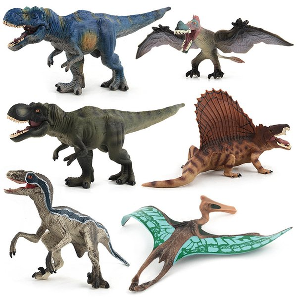 Jurassic Park Word Dinosaurs Toys Simulated Animals Action Figure Dragon Model Home Decor Toy Figure Kids Children Toys Gift