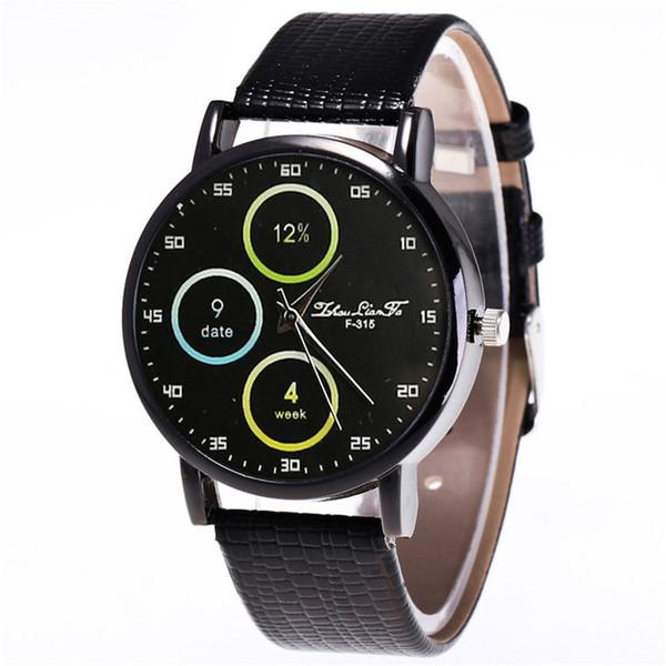 Bracelet en cuir pour dames montre à quartz femme coréenne Lady Couple étudiant montre Casual mode cadeau femme nouveau réveil reloj mujer A40
