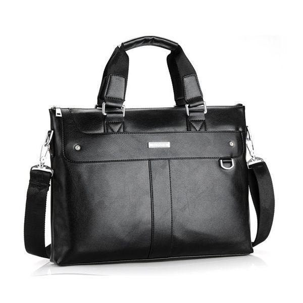 2019 Men Casual Briefcase Business Shoulder Bag Leather Messenger Bags Computer Laptop Handbag Bag Men's Travel Bags