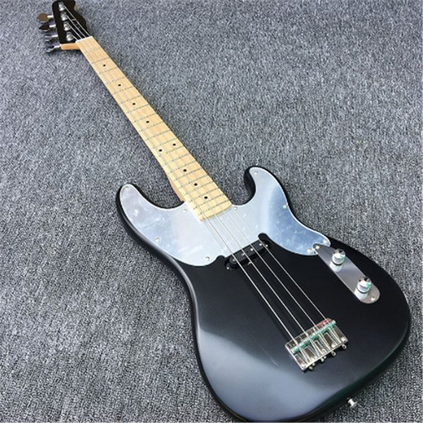 Free shippingHigh Quality Electric BASS Guitar,Tele BASS Guitar With Full ALDER Body 4 strings bass guitarras Maple fingerboard,
