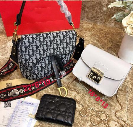 Designer Handbags Brand Bag Paris Real Leather Luxury Handbags Shopping Bag Shoulder Bag Fashion Clutch Bags Wallet Purse 1 Piece=3 bags 01
