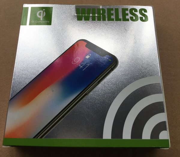 10W Qi Wireless Charger For Iphone X XS MAX 10W Mobile Phone Fast Wirless Charge Charging Pad For Samsung Cargador Inalambrico