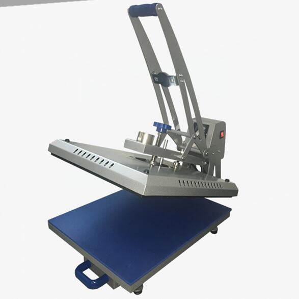 Auto Counting LCD Controller sublimation heat press machine for T-shirt
