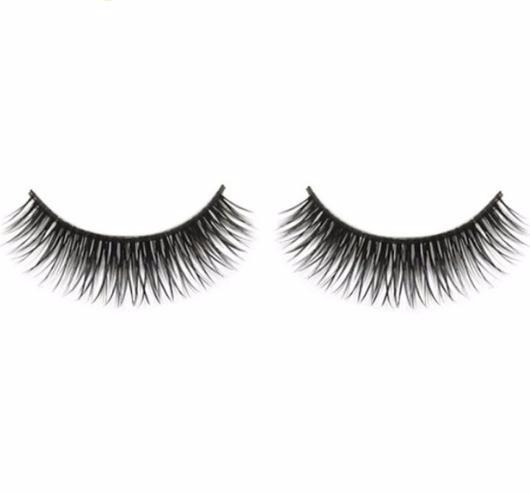 False Eyelash Colorwomen 1 Pair Natural Long Dense A Pair False Eyelashes Black Eyes Lashes 161102