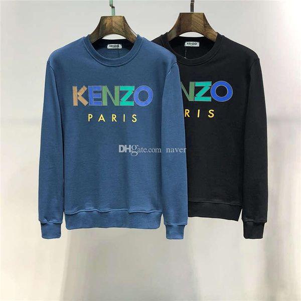 2019 FW New Arrival Top Quality Brand Designer Men's Clothing Tiger Eyes Print Embroidery Street Hoodies Long Sleeve Sweatshirts M-3XL 2604