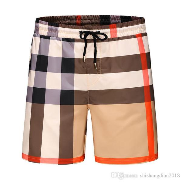 Diseñadores para hombre Pantalones cortos de verano Pantalones Moda 1 colores Carta con cordón impreso pantalones cortos 2019 relajado Homme Luxurys pantalones de chándal