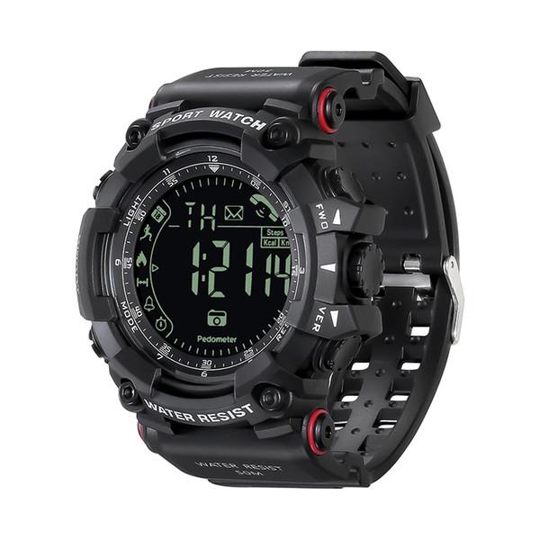 Reloj inteligente de alta calidad PR2h Relojes deportivos al aire libre para hombres y mujeres Pulsera de monitoreo de podómetro multifunción para exteriores para