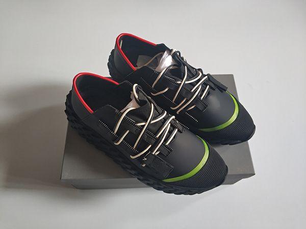Nome Marca Kanye West Arena Scarpe Uomo Casual Sneaker Designer di alta marca a buon mercato Moda cinque colori Scarpe da festa Formato allenatore 35-46